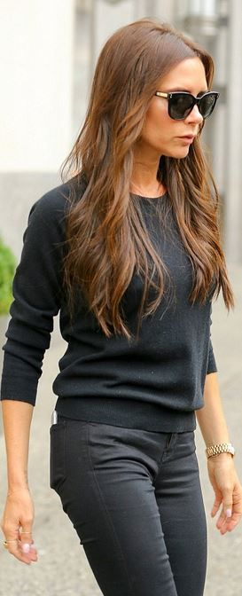 Victoria Beckham: Sweater – Victoria Beckham Collection  Watch – Rolex                                                                                                                                                     More