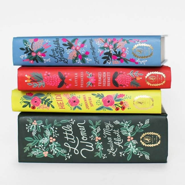 Illustrator Anna Bond has collaborated with Penguin Books to create an exquisite collection of girl's classic books.