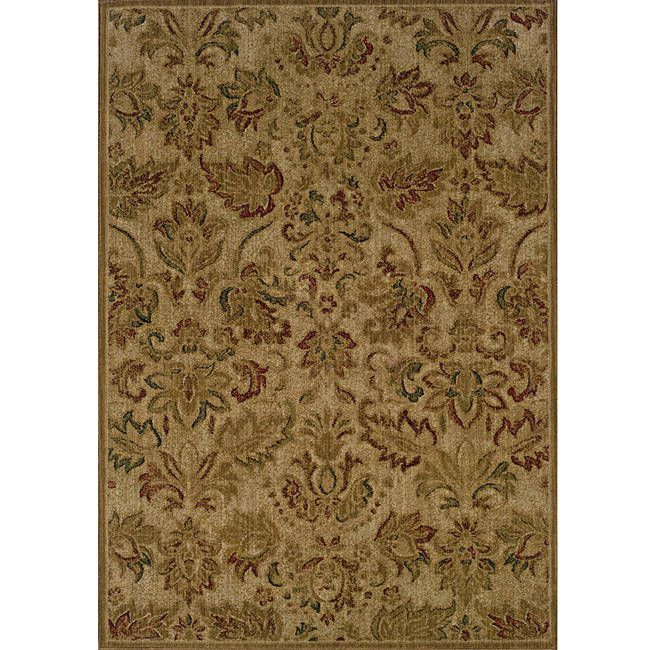 Style Haven Ellington Beige/Green Transitional Area Rug
