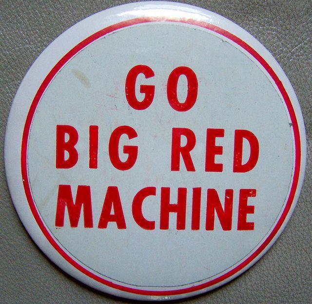 "1970s CINCINNATI REDS ""Big Red Machine"" pin by Cincinnati Sports History, via Flickr"