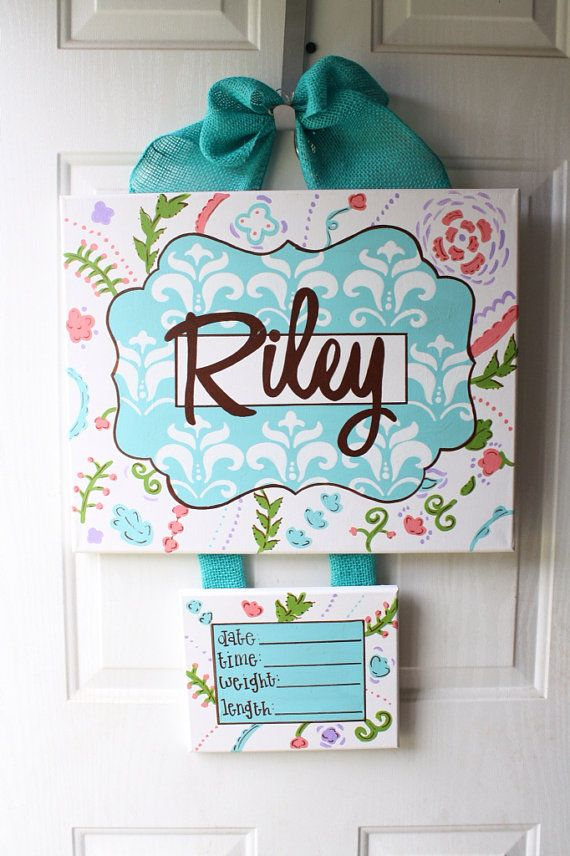 1000 ideas about hospital door wreaths on pinterest for Baby boy door decoration