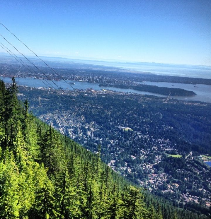 Grouse Mountain in North Vancouver, BC