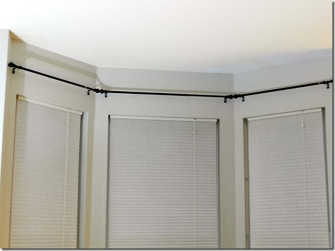 the most delightful and supreme collection of bay window curtain bay window curtain rod. Black Bedroom Furniture Sets. Home Design Ideas