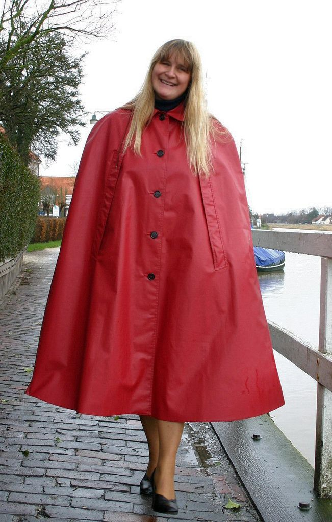 Mein rotes Kleppercape | Flickr - Photo Sharing ...