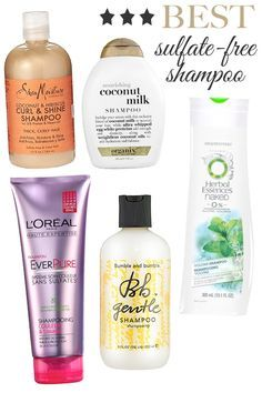 Best Sulfate Free Shampoos.  I would add DevaCurl. It's expensive though but my 3C hair loves that stuff.