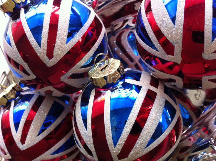 Christmas Tree Ornaments ~ Union Jack