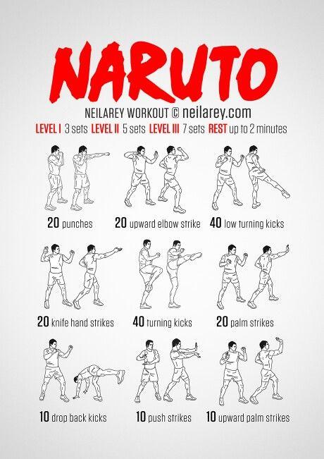 Naruto workout