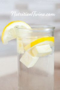 "Pineapple Lemon Ginger ""Detox"" Water 