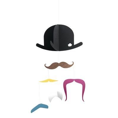 Mr. Moustache mobile -papershop.fi