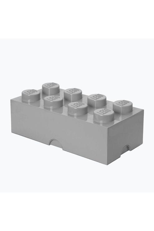 Sisusta LEGO-laatikoilla, joihin voi kerätä kaikki legot. Klassiset LEGO-värit, saatavana myös paperikori. Täydellinen lastenhuoneeseen, mutta sopii myös tyylikkääksi ja käytännölliseksi sisustusdetaljiksi muihinkin huoneisiin. Palikat ja päät ovat yhteensopivat ja voidaan kasata päällekkäin. Muovia.<br><br>Mitat: 25 x 50 x 18 cm <br><br>