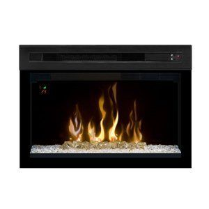 Dimplex 25-In Multi-Fire XD Plug-In Contemporary Electric Fireplace Insert - PF2325HG