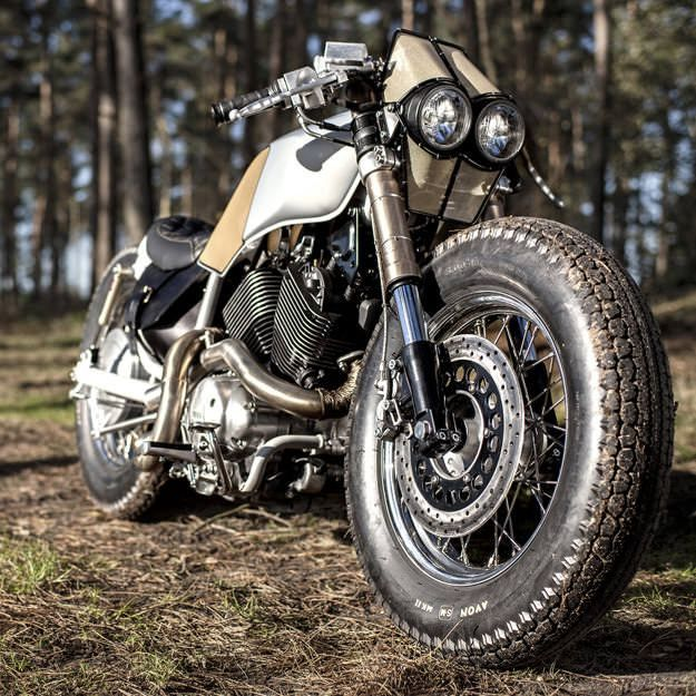 The Yamaha Virago From Cruiser To Cafe Racer Yamaha