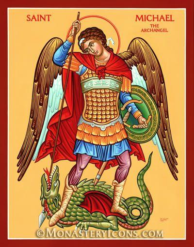 Monastery Icons Icon of Saint Michael the Defender