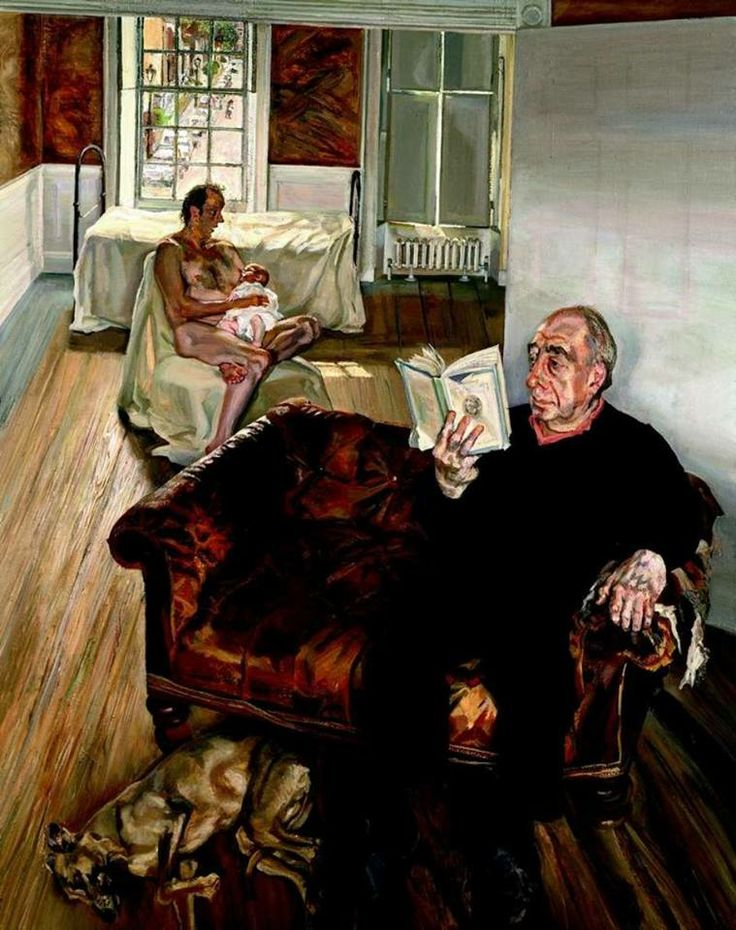 Lucian Freud, Grand Interior, Notting Hill, 1998