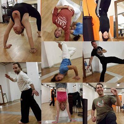 Sneak 'n Peak @ Capoeira!