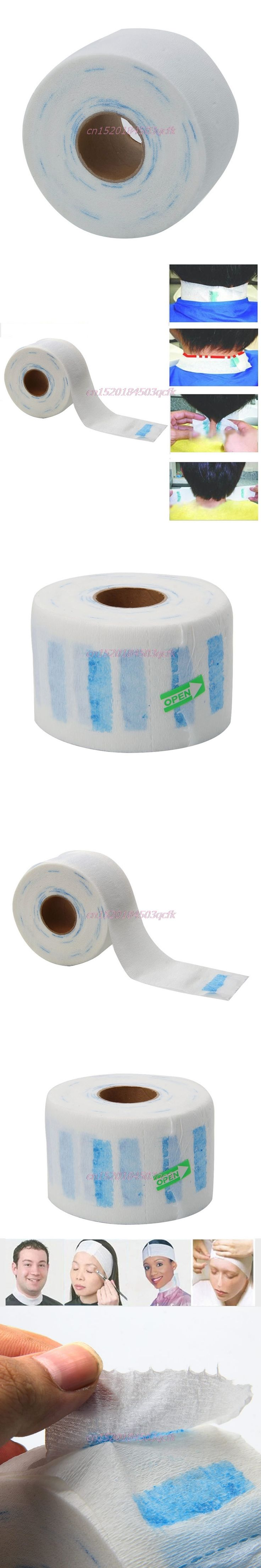 Neck Paper Roll for Barber Barber Salon Tools Professional Stretchy Disposable