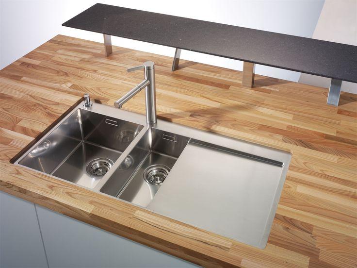Die besten 25+ Massivholz arbeitsplatte Ideen auf Pinterest - Arbeitsplatte Küche Edelstahl