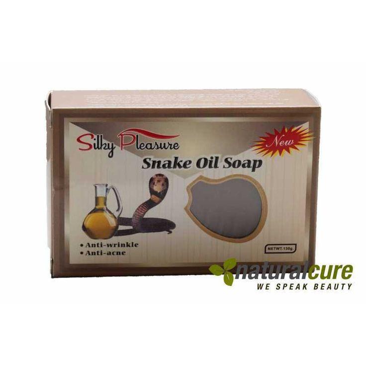 Anti Akne & Falten Seife Snake Oil Soap