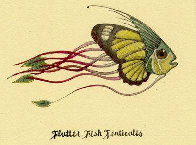 Flutter Fish   by littlerobot-