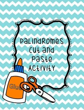 Worksheets Palindrome Riddles Worksheet 1000 images about palindromes on pinterest language book show the student is to determine whether or not a word palindrome and place it in correct category i used this in
