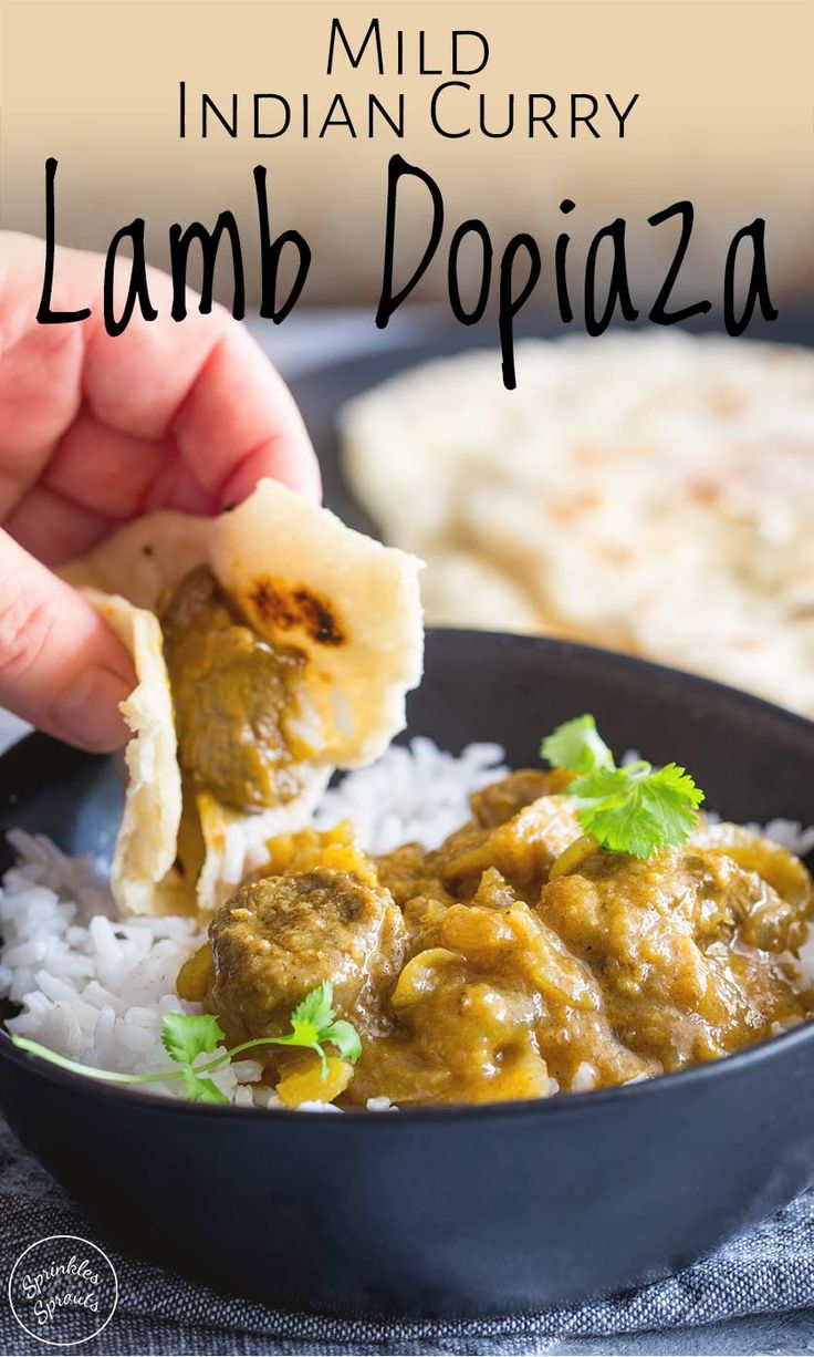 lamb dopiaza is a traditional curry that is easy to make