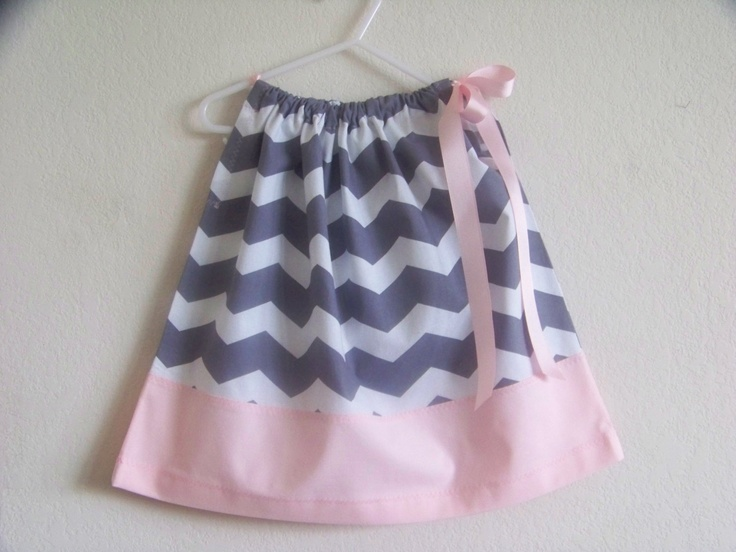 Grey Chevron with Pastel Pink pillowcase dress available in Sizes 0-3 mons3 & 85 best Pillowcase Dresses images on Pinterest | Pillowcase ... pillowsntoast.com