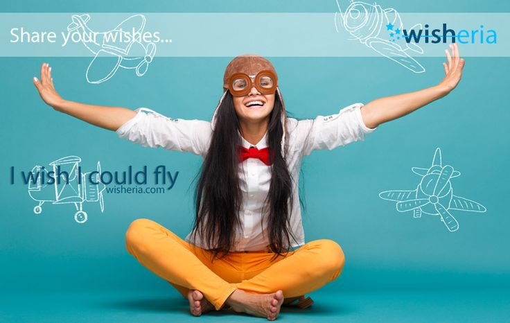 I wish I could fly #wish #mywish