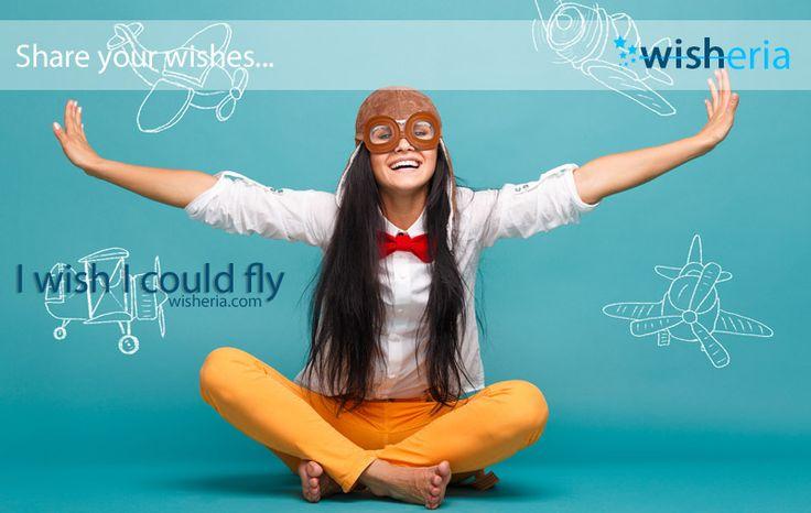 I wish I could fly #wish #mywish