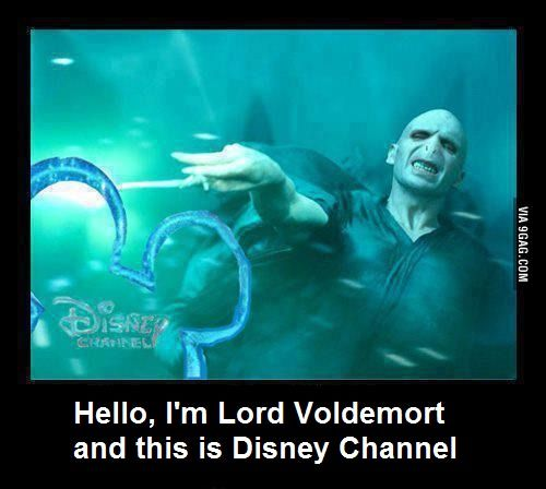 Just Lord Voldemort in Disney Channel!