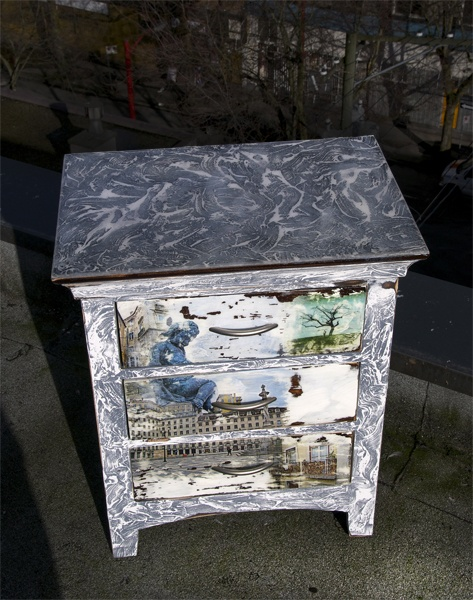 http://www.JasonAthen.com  Night Stand I painted!  This is a picture from all angles.