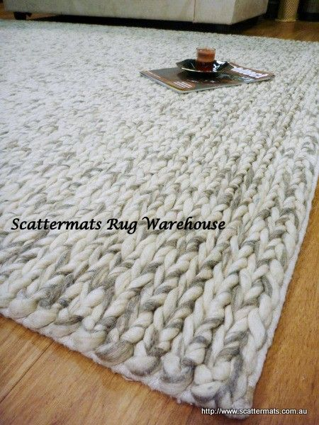 Wool Rugs Lux Natural Wb02 Floor Rug