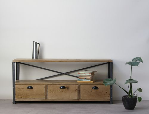 Industrial Tv stand With drawers.jpg