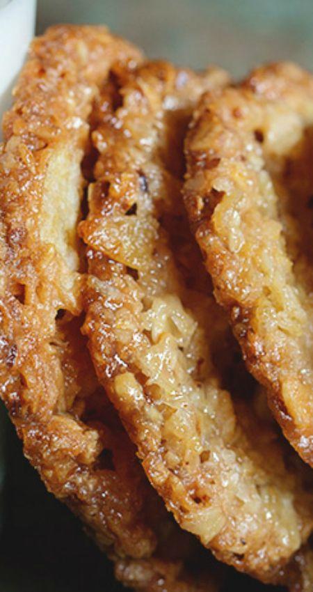 Potato Chip Lace Cookies ~ Beyond delicious!