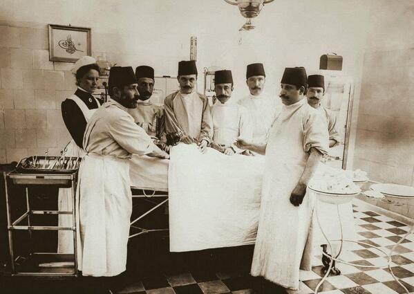 ~1900 - Şişli Hamidiye Etfal Hastahanesi Ameliyathanesi