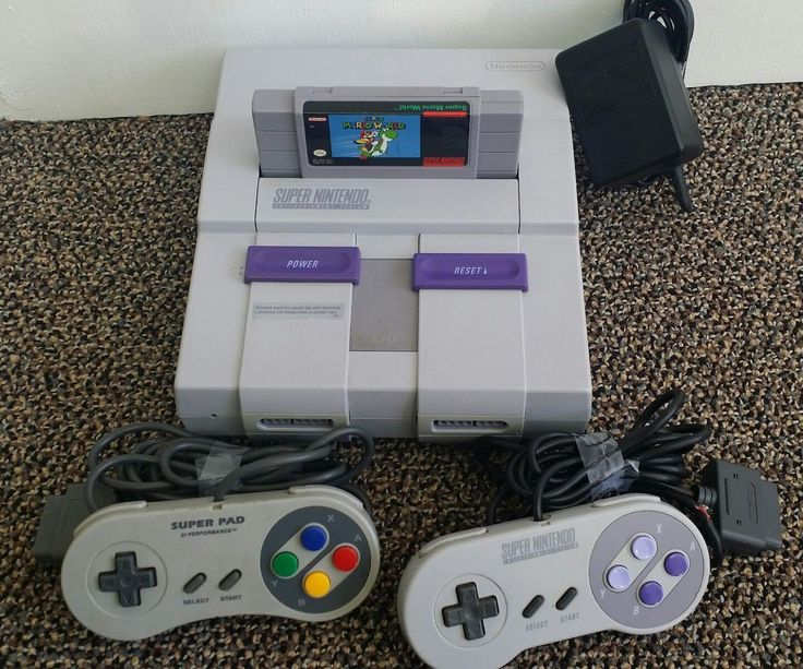 Super Nintendo Console (SNES) Gray Bundle w/ Super Mario World, A/V Cable: $95.76 End Date: Saturday Mar-17-2018 12:38:53 PDT Buy It Now…