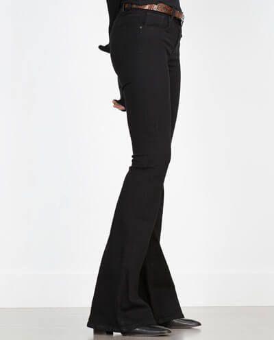 Flare jeans per l'autunno 2015 Zara