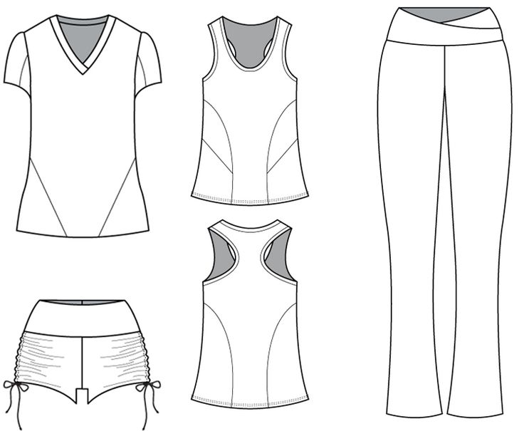 Sew and Draft Your Own Personal 7 Piece Workout Wear Collection - Customizing your workout wear | Burda University