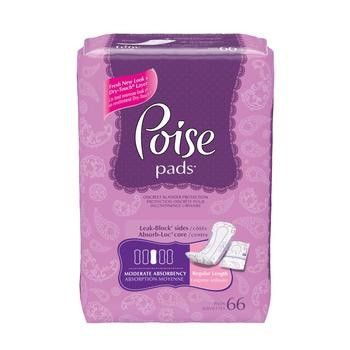 Bladder Control Pad | Poise® 10.9 Inch Length Moderate Absorbency Abso – PRO2Medical
