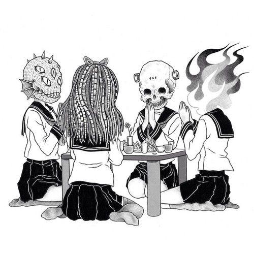 """いただきます! / """"Let's eat!"""" by BLACK RHOMBI (Gerald Leung)"""
