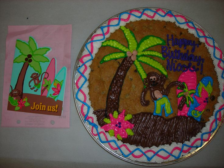 Birthday Cookie Cake Designs Good Food In Des Moines