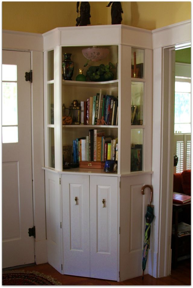 Nice corner built ins for the home pinterest shelves cottages and corner shelves for Built in designs living room