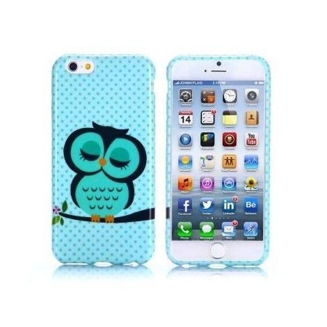 Coques / Protections iPhone 6 (4.7 pouces) - Coque de protection style Hibou pour iPhone 6 4.7 pouces design Hibou - nemtytab.com