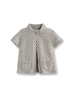 gray sweater $17.95 euros -okaidi-