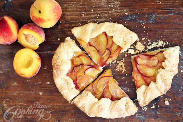 Peach Galette +VIDEO | Recipe