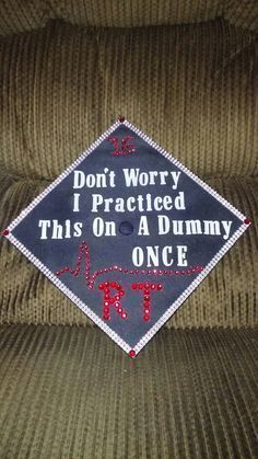 Image result for respiratory therapy graduation cap decoration – #decoration #graduation #image #respiratory #result