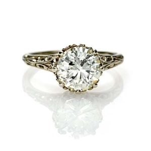 Edwardian Engagement ring vintage by aninha's sundries