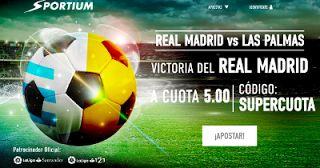 el forero jrvm y todos los bonos de deportes: sportium supercuota 5 gana Real Madrid a Las Palma...