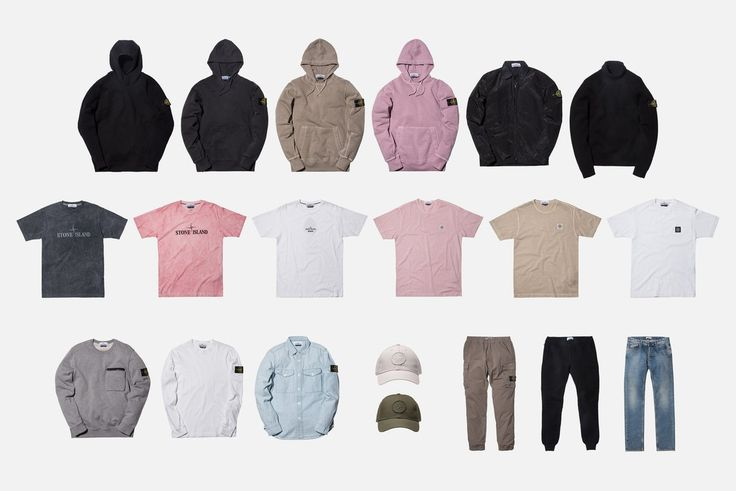 Stone Island releases the initial drop of their Spring '17 campaign - this seasonal assortment of apparel runs the gamut in terms of silhouettes, ranging Washed Tees, Long Sleeves, Crewnecks, Hoodies, Turtlenecks, Sweatpants, Cargo Pants, and Hats. Shop the full range now at Kith Manhattan, Kith Brooklyn, Kith Miami and Kith.com.