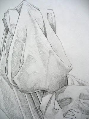 Drawing class drapery