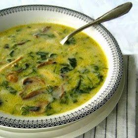 Μαγειρίτσα χορτοφαγική (με μανιτάρια)